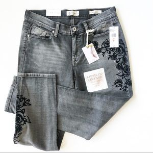 Jessica Simpson Mika Best Friend Floral Jeans NWT